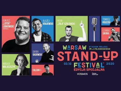 Warsaw Stand-up Festival 2020 już w październiku!