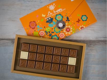 Czekoladowy telegram – prezent dla miłośników czekolady i nie tylko
