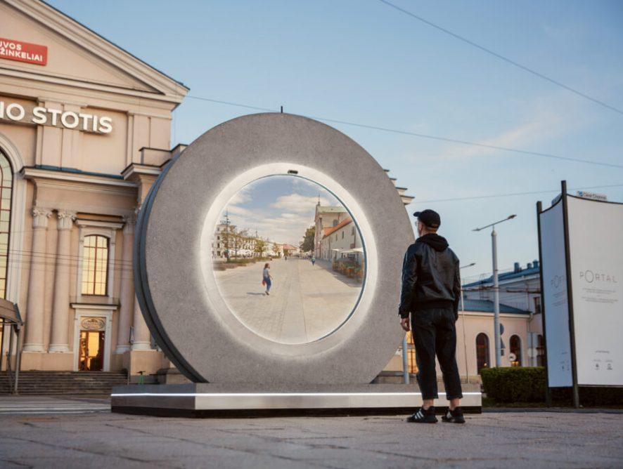 Niezwykły portal połączył Lublin oraz Wilno