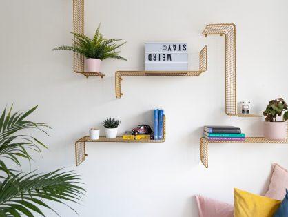 Półka na ścianę - 5 pomysłów na aranżację